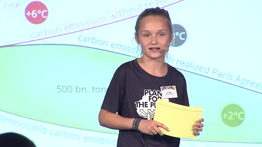 Children speak out about the climate crisis
